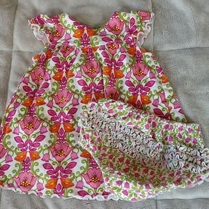 Vera Bradley 9-12 months pink dress
